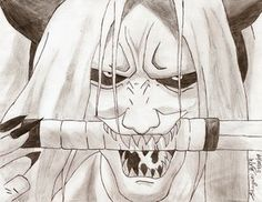 Shinigami of the reaper death seal
