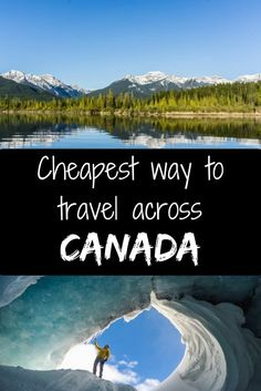 Cheapest way to travel across Canada. Travel in North America. Cheapest way to travel across Canada. Travel in North America. Cheap Places To Visit, Cheap Places To Travel, Ways To Travel, Cheap Travel, Travel Tips, Budget Travel, Travel Hacks, Travel Packing, Europe Budget