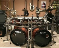 Drum Music, Music Guitar, Double Bass Drum Set, Drum Cage, Girl Drummer, Diy Drums, Metal Drum, Drumline, How To Play Drums