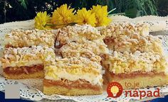 Elolvad a szádban, ha bele harapsz. Hungarian Cake, Hungarian Recipes, Eat Seasonal, Salty Snacks, Creme Brulee, Fall Desserts, Diy Food, Cupcake Cakes, Cupcakes