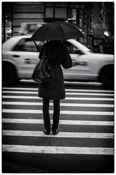 triste in black by ifotog, Queen of Manhattan Street Photography,