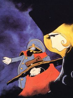Galaxy Express 999 by Leiji Matsumoto