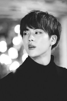 My 578754467803 picture of Kim Seokjin. He's so handsome! Seokjin, Bts Black And White, Black And White Wallpaper, Taehyung, Namjin, Bts Jin, Suho, Jikook, Kpop