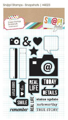 2013 CHA (winter); Simple Stories, Snap collection, more pieces including die cut divider pages, stamps & more!