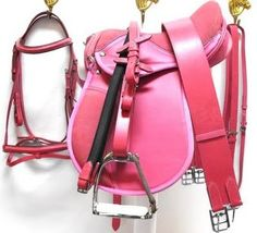 I hate pink, but it's English tack so I needed to pin it, lol!