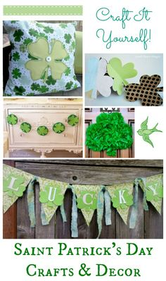 St. Patrick's Day Crafts & Decor