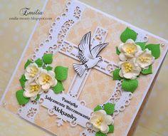 Kartka na bierzmowanie z gołębiem/Card for confirmation