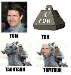 TOM TON TAUNTAUN TOMTAUN http://ift.tt/2gYSgw1