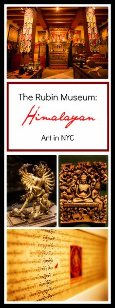 A wander 'round the Rubin Museum of Art, the best intimate collection of South Asian and Himalayan art in all of NYC.