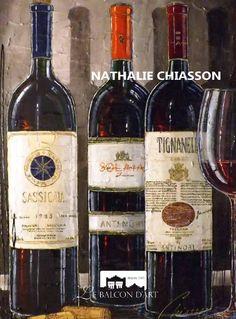 Nathalie Chiasson: D'un coup d'œil | At a Glance  Le Balcon D'art: Catalogue galerie d'art | Catalog Art Gallery