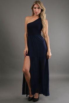 Navy Siwa Dress