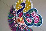latest Simple Rangoli Designs Images Photos for Diwali 2018 ~ Happy Diwali Images Wishes 2018 Rangoli Designs Latest, Latest Rangoli, Simple Rangoli Designs Images, Rangoli Designs Flower, Rangoli Designs Diwali, Diwali Rangoli, Rangoli Designs With Dots, Beautiful Rangoli Designs, Easy Rangoli