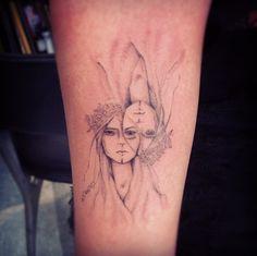 Tattoo by Dr Woo / Shamrock Social Club / Los Angeles USA