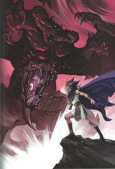 """thekaibacorporation: """" Duel Art: Kazuki Takahashi Yu-Gi-Oh! Illustrations """""""