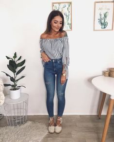 Pin by Jessica Bernal Obando on Style in 2019 Uni Outfits, Cute Casual Outfits, Mode Outfits, Spring Outfits, Fashion Outfits, Womens Fashion, Pinterest Fashion, Mode Style, Look Fashion