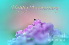 #HAPPY #ANNIVERSARY - #Greeting #Card Quality Prints & Cards at: http://kaye-menner.artistwebsites.com/featured/happy-anniversary-kaye-menner.html  -