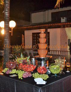 Showcofonte & Showcofestas Fontes de Chocolate para Eventos.