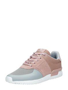 Bjorn Borg Low Mesh sneakers voor dames in pastelkleuren.