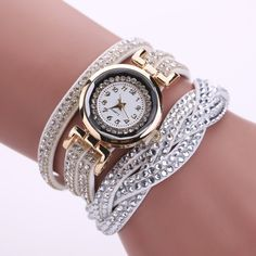 Rhinestone Leather Bracelet Women Watch     Tag a friend who would love this!     FREE Shipping Worldwide | Brunei's largest e-commerce site.    Buy one here---> https://mybruneistore.com/2017-new-luxury-bracelet-watch-women-casual-quartz-watch-rhinestone-pu-leather-ladies-dress-watches-fashion-wristwatch-gift/