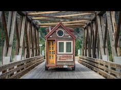 Dieses selbstgebaute mobile Häuschen ist keine 6 Meter…