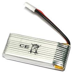 3.7V 500mAh Battery for UDI U816 U941A U941 U927 Drone #hats, #watches, #belts, #fashion, #style