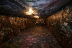 [Pinot Gallizio] Caverna dell'antimateria, 1959 Tecnica mista su tele (olio, resine plastiche, solventi, pigmenti, fili di ferro).