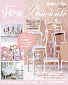 Brocante special voorjaar 2012. #magazine #cover #brocante #shabby
