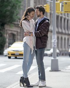 Menswear blogger @isaaclikes_ and model @jennyalbright portray a modern day Marty McFly  Jennifer Parker wardrobed in Calvin Klein. Photographed by @kat_in_nyc. #BTTF2015  Shop their looks now at calvinklein.com Link in profile to shop [US]. - Shop now for calvinklein > http://ift.tt/1Ja6lvu