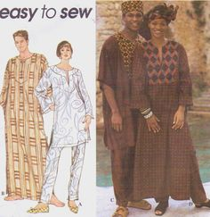 90s Simplicity Sewing Pattern 8895 Mens or Womens by CloesCloset, $12.00