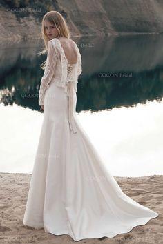 Mermaid Wedding dress Vintage chic wedding dress by CoconBridal