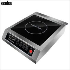 259.35$  Buy here - http://alirx8.worldwells.pw/go.php?t=32695443595 - Xeoleo Commercial Induction cooker 3500W  Stainless steel Induction cookers with timing  for hotpot/soup stewing/stir-fly
