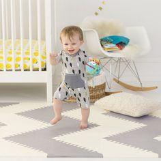 Baby & Kid Foam Play Mat Tiles - Playspot Geo | Skip Hop