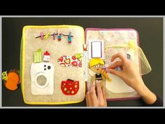 Quiet Book Samuel (Fabric/felt book for children with a lot of activities) Diy Busy Books, Quiet Books, Princess Quiet Book, Baby Corner, Puppets For Kids, Teaching Colors, Book Activities, Activity Books, Fabric Toys