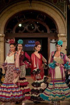 Traje de Flamenca - Lola-Azahares - We-love-flamenco-2015 | Wappissima
