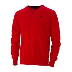 FERRARI | Men's Ferrari cashmere V-neck sweater, available now on store.ferrari.com #ferraristore #man #sweater #cashmere