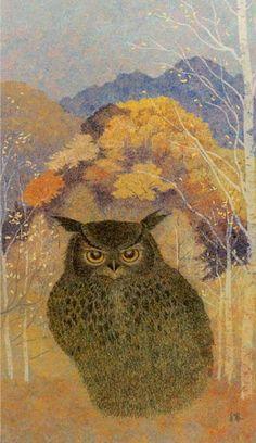 'No. 296 Owl' by Yukio Katsuta