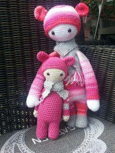 Bina samen met haar kleintje