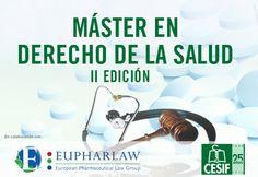 El próximo 27 de noviembre arranca la 2ª edición del #Máster de #DerechodelaSalud CESIF-Eupharlaw tras el éxito de la primera edición, que finaliza con la presentación y exposición de los Trabajos Fin de Máster y la posterior graduación de los alumnos el viernes 23 de octubre.  #Derecho #Salud #Postgrado #Madrid #Barcelona