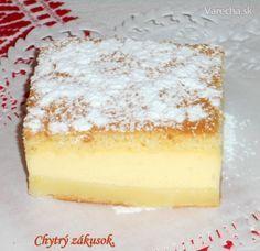 Chytrý zákusok s makom (fotorecept) Cheesecake, Pudding, Treats, Baking, Sweet, Food, Hampers, Easy Food Recipes, Sweet Like Candy