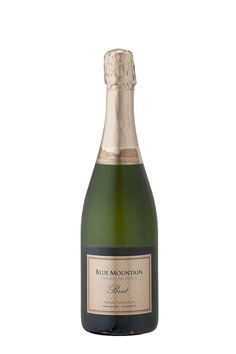 Sparkling Wine, Blue Mountain, Champagne, Gold, Drinks, Bottle, Label, Photography, Drinking