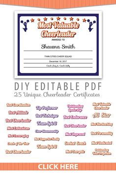 cheerleading certificate templates free.html