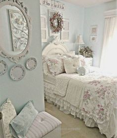 Great 33 Sweet Shabby Chic Bedroom Décor Ideas – DigsDigs The post 33 Sweet Shabby Chic Bedroom Décor Ideas – DigsDigs… appeared first on Migno Decor .