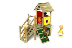 Playground Equipment from Action Play & Leisure - here's the Waxham 10 play tower! http://www.actionplayandleisure.co.uk/waxham-10/