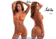 Suits You Swimwear, Crystal Jewel G-string bikini #bikini #crystal #swarovski