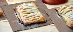 Sfogliatine alle mele, un dolce facile da preparare perchè ha una base di pasta sfoglia e solo tante buonissime mele