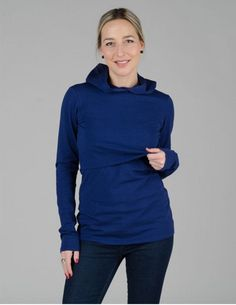 18f96bf6a9c38 Comfortable and cozy, this nursing hoodie is a game changer for  breastfeeding moms. Perfect