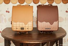 Q-pot.のランドセル、とろけるチョコやビスケットをモチーフに | ニュース - ファッションプレス