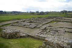 Headquarters building (Principia), Vindolanda Roman Fort        The stone fort at Vindolanda was built to house the Fourth Cohort of Gauls  who moved to Vindolanda after AD 212. This was Vindolanda's third stone fort; there had also been five timber forts.