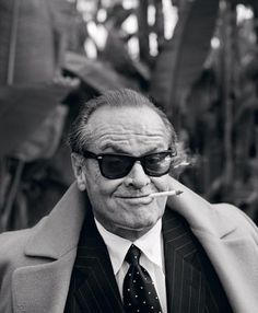 Portrait of Jack Nicholson by Lorenzo Agius, 2007