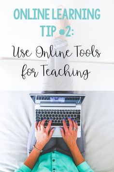 This education blog post highlights 5 online learning tips to help classroom teachers become successful virtual teachers.#vestals21stcenturyclassroom #onlinelearning #onlinelearningtips #onlinelearningresources